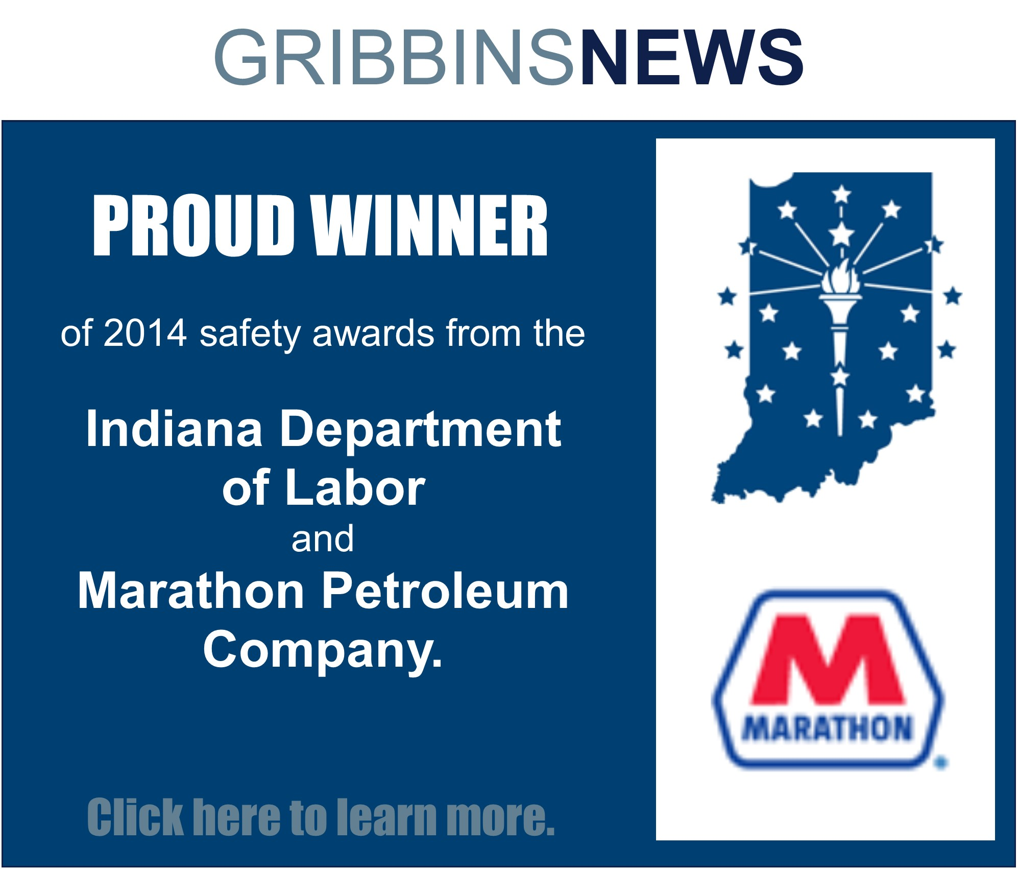 Two more safety awards!