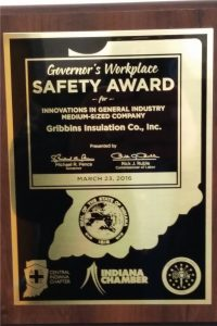 Governors Safety Award 2016